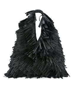 Mm6 Maison Margiela | Oversize Fringe Shoulder Bag Womens Cotton/Paper
