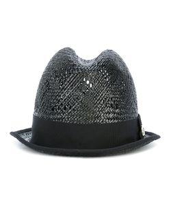 DSquared² | Panama Hat Womens Size Medium Viscose/Straw/Cotton