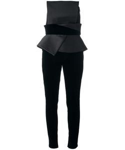 Zuhair Murad | Strapless Structu Jumpsuit Womens Size 38 Polyester/Silk/Cotton/Viscose