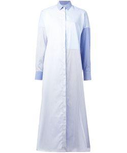 Each X Other | Striped Midi Shirt Dress Womens Size Small