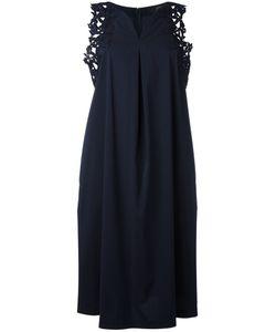 Steffen Schraut   Tank Lace Detail Dress Womens Size 36 Viscose/Cotton/Polyester/Spandex/Elastane