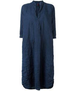 Daniela Gregis | V-Neck Tunic Dress Womens Size 2 Linen/Flax