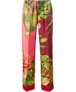 For Restless Sleepers | Jungle Print Pyjama Trousers Womens Size Small