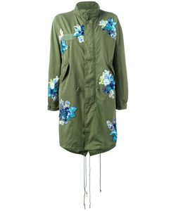 Night Market | Patches Military Coat Womens Size Xs Cotton/Nylon