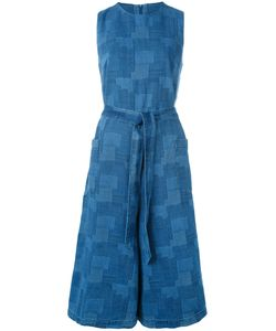 YMC | Waist-Tie Cropped Jumpsuit Womens Size 10 Cotton