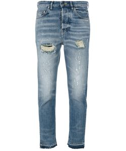 Golden Goose Deluxe Brand | Distressed Cropped Jeans Womens Size 30