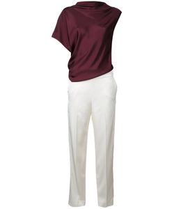 08Sircus | Contrast Jumpsuit Womens Size 36 Polyester