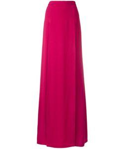 Chalayan | Long Split Skirt Womens Size 42 Acetate/Viscose