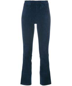 Stouls | Maxime Trousers Womens Size Xs Cotton/Spandex/Elastane/Lyocell/Lamb Skin