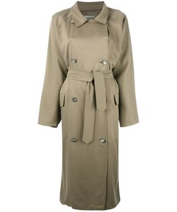 Dusan   Oversized Trechcoat Womens Silk