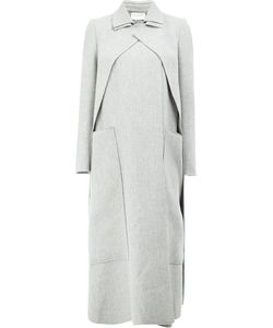 Maison Rabih Kayrouz   Concealed Fastening Double-Breasted Coat Womens Size 34