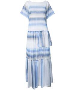 Lemlem   Striped Long Dress Womens Size Small Cotton