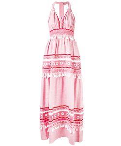Dodo Bar Or | Tie Tassel Halterneck Dress Womens Size Medium