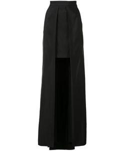 Vera Wang | Cutaway Skirt Womens Size 2 Silk