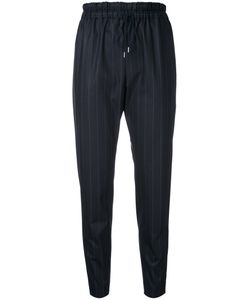 Astraet | Pinstripe Cropped Trousers Size 2 Polyester