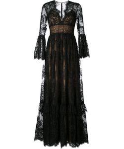 Zuhair Murad | Lace Fla Gown Womens Size 42 Silk/Polyamide