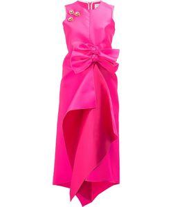 Maison Rabih Kayrouz   Embellished Front Bow Dress Womens Size 36
