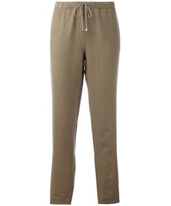 Majestic Filatures | Drawstring Trousers Size Iii Cotton/Linen/Flax