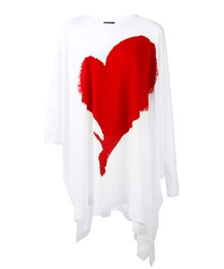 Vivienne Westwood | Heart Print T-Shirt Womens Cotton