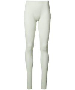 Issey Miyake   Seamless Leggings Womens Size 2 Nylon/Polyester/Polyurethane
