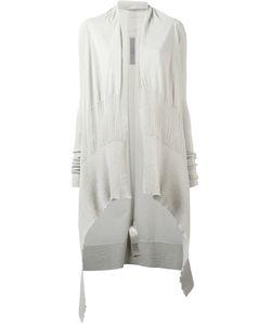 Rick Owens | Waterfall Cardigan Womens Size Medium Cotton/Polyamide