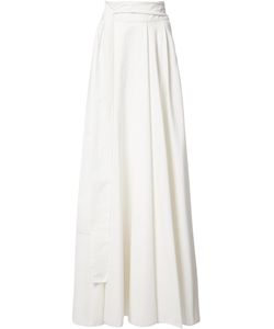 Novis | Vine Pleated Skirt Womens Size 6 Cotton