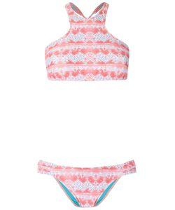 Brigitte | Printed Bikini Set Womens Size G Polyamide/Spandex/Elastane