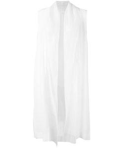 Demoo Parkchoonmoo | Long Waistcoat Womens Size 42 Polyester/Acetate
