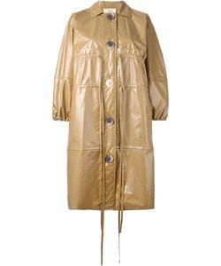 Ports   1961 Single Breasted Coat Womens Size 40 Cotton/Polyurethane