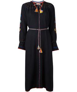 Ulla Johnson | Embroide Maxi Slit Dress Womens Size 8