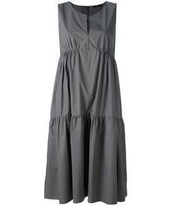 Odeeh | Shift Ruffled Dress Womens Size 34 Cotton