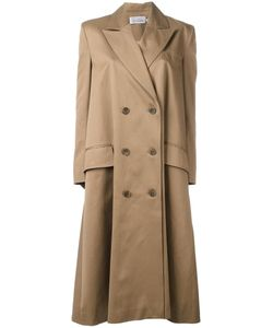 Preen by Thornton Bregazzi | Peaked Lapel Double-Breasted Coat Womens Size Xs