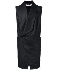 A New Cross | Asymmetric Four Pocket Vest Mens Size Large