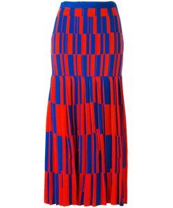 Proenza Schouler | Geometric Pattern Skirt Womens Size 8 Polyamide/Polyester/Viscose