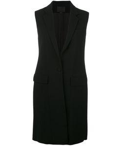 Alexander Wang   Lace-Up Detailed Long Gilet Womens Size 2 Spandex/Elastane/Acetate/Viscose/Polyester