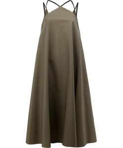 Maison Rabih Kayrouz   Multiple Straps Fla Dress Womens Size 38