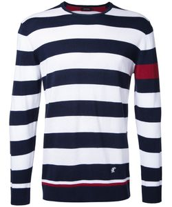 Loveless | Striped Jumper Mens Size 3 Silk/Cotton/Rayon