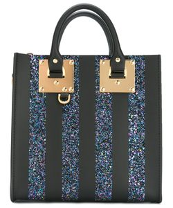 Sophie Hulme | Glitter Square Albion Tote Womens Leather/Pvc