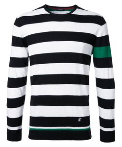 Loveless | Striped Jumper Mens Size 2 Silk/Cotton/Rayon