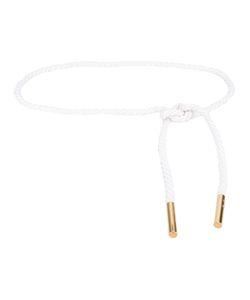 Loro Piana | Braided Belt Womens Cotton/Metal Other