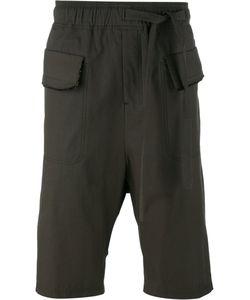 Damir Doma | Flap Pockets Drawstring Shorts Mens Size Small Cotton/Polyamide