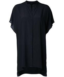 Roberto Collina | Short-Sleeve Shirt Womens Size Large Silk