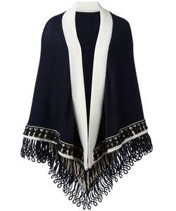 Antonia Zander | Colour Block Large Scarf Womens Cashmere/Cotton/Polypropylene