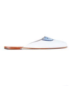 Diego Vanassibara | Flat Slippers Mens Size 45 Leather