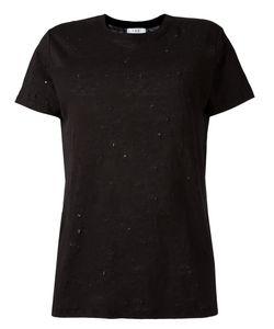 Iro | Ripped Trim T-Shirt Womens Size Xs Linen/Flax