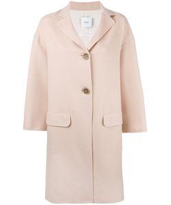 Agnona | Midi Coat Womens Size Small Cashmere/Cupro