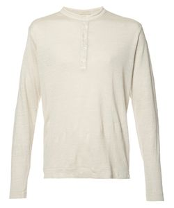 Massimo Alba   Boavista Henley T-Shirt Mens Size Xl Cotton