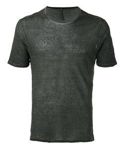 Transit | Striped T-Shirt Mens Size Small Linen/Flax