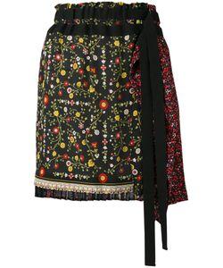 No21   Tie-Waist Skirt Womens Size 42 Silk