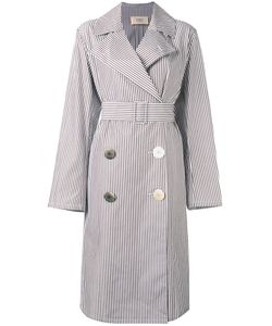 Ports   1961 Double Breasted Coat Womens Size 40 Cotton